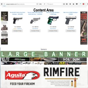 Featured Large Banner Advertising