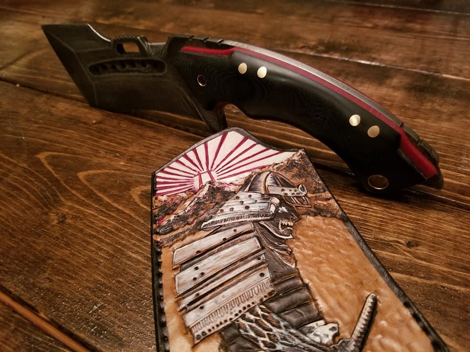 Tidal Ridge knives