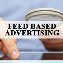feed based advertising